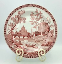 """The SPODE Archive Collection Georgian Series """"Rome"""" 10.25"""" Porcelain Plate - $17.81"""