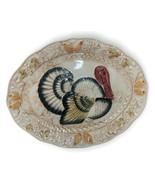 Vintage Caldor Inc. Thanksgiving Turkey Platter - Made In Japan - $38.96