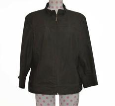 St. John Women's Sz L Large Gray Fashion Coat Jacket - $99.99