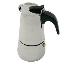 Stainless Steel Italian Style Espresso Maker, 2 Cup - $12.86
