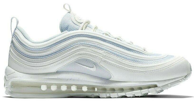 NIKE AIR MAX 97 WHITE/LIGHT BLUE SIZE 10 BRAND NEW FAST SHIPPING (921826-104) image 3