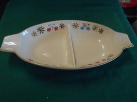 Great Collectible FRANCISCAN Color Seal Dinnerware  Divided SERVING DISH - $10.11