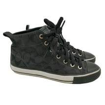 Coach Franca High-Top Lace-Up Women's Shoes Sneakers Size 7 Q1388 - $39.55