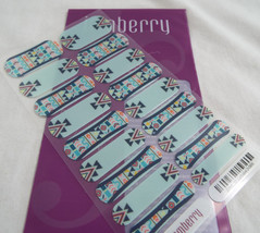 Jamberry Stylebox Exclusive 2-0615 2G54 Nail Wrap Full Sheet Tribal Southwestern - $16.82