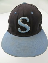 Sting Little League? Blue Fitted 6 7/8 Adult Baseball Ball Cap Hat - $12.86