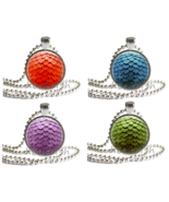 DRAGON EGG Fantasy Glass Photo Pendant Charm Accessory - Necklace Folklore - $9.95