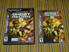 Tom Clancy's Ghost Recon 2 (Sony PlayStation 2 PS2, 2004) W Manual Excellent! - $9.69