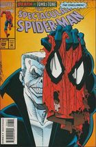 Marvel The Spectacular SPIDER-MAN (1976 Series) #206 Fn - £0.55 GBP