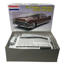 Monogram '59 Cadillac Eldorado Seville Hardtop 1/25 Scale Model Kit 85-7808 - $49.99