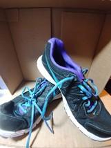 Nike Revolution 2 Women's Black Purple Athletic Running Shoes 554902 023... - $19.25