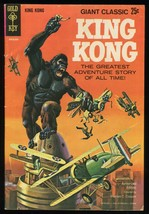 King Kong Giant Classic Gold Key comic 1968 Alberto Giolitti art Bagged-... - $89.00