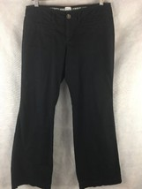 Old Navy Dark Blue Low-Rise Casual Chino Pants Size 6 Regular 100% Cotton - $15.79