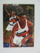 John Williams Phoenix Suns 1996 Fleer Basketball Card Number 183 - $0.98