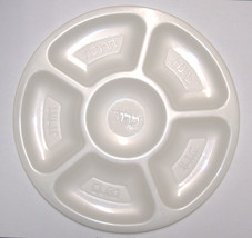 4 X Judaica Plastic Pesach Passover Seder Plate Children Teaching Aid Israel image 2