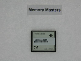 MEM2800-64CF 64MB Approved Compact Flash Memory for Cisco 2800