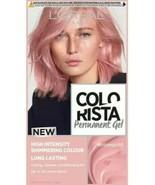 2 x L'Oreal Colorista ROSE GOLD PASTEL PINK Permanent Hair Dye Gel SHIMM... - $34.45