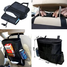 Standard Travel Car Seat Back Storage Bag Organizer Multi Pocket Large S... - €11,10 EUR