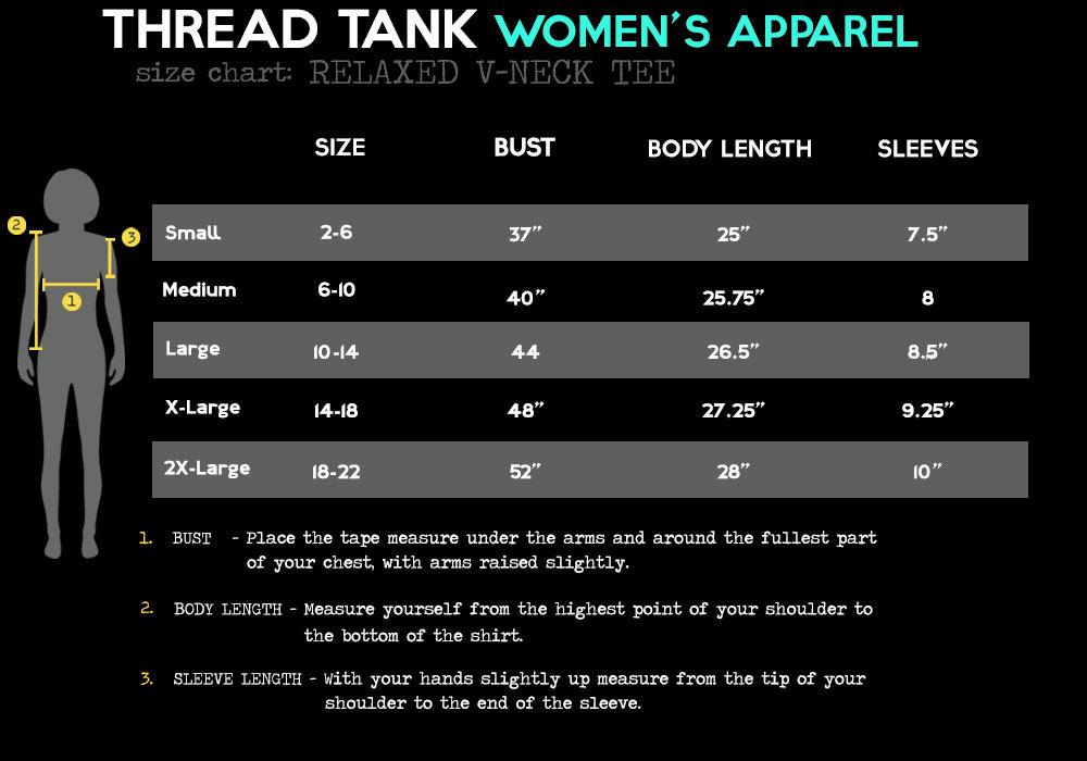 Thread Tank Super Cool Teacher Women's Relaxed V-Neck T-Shirt Tee Heather Grey