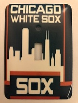 Chicago White Sox Metal Switch Plate sports - $9.50