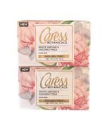 Caress Botanicals 5 Oz. Bar Soap White Orchid & Coconut Milk FREE SHIP L... - $14.35
