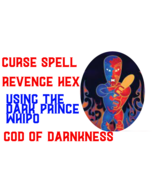 Curse spell Whiro God of death curse spell take the ultimate revenge bla... - $99.97