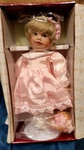 "Ashton Drake Porcelain Doll ""SUZANNE"" Flower Girl for Wedding 12""  NIB - $14.80"