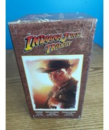 The Indiana Jones Movie Trilogy Collectors Edition VHS Video Tape Set Te... - $12.82