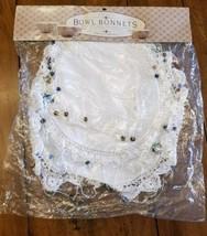 3 Charles Keath Crocheted Beaded Cloth FOOD TENTS Two's Company Bowl Bon... - $9.69