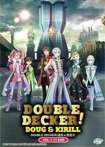 Double Decker! Doug & Kirill Complete Series (1-13) English Dub Ship From USA
