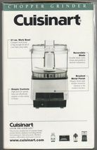 Cuisinart DLC-1SS Mini-Prep Processor Brushed Stainless Steel NEW IN SEALED BOX image 5