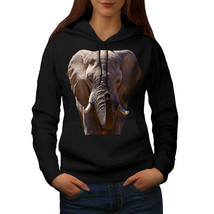 Elephant Safari Animal Sweatshirt Hoody Animal Face Women Hoodie - $21.99+
