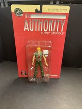 The Authority Jenny Sparks DC Direct Toys Fully Poseable Action Figure N... - $18.69