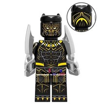 Erik Killmonger Marvel Black Panther Movie Single Sale Minifigures Lego Block - $1.99