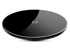 10w qi wireless black iphone xs plus visible fast wireless charging pad ... - $19.99