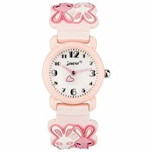 Kids Watch, 3D Cute Cartoon Waterproof Silicone Watch for Girl and Boy,Children