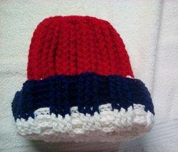 Red White Blue Winter Hat.Teens Adu!ts - $7.00