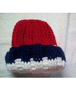 Red White Blue Winter Hat.Teens Adults - $5.00