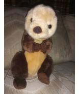 "Miyoni By Aurora World Sea Otter Plush 12"" Brown Stuffed Animal 2018 Tha... - $16.82"