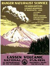 7550.Decoration Poster.Home Room wall art design.Lassen Volcanic National Park - $11.30+