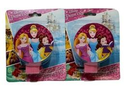 2 Disney Princess LED Night Light Rotary Shade Entrance Hallway Bedroom ... - $20.69