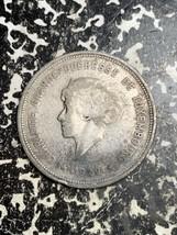 1929 Luxembourg 5 Francs Lot#L7901 Silver! Rim Bump - $9.50