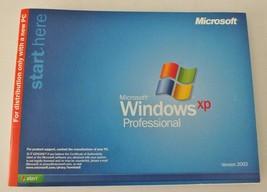 Microsoft Windows XP Professional 1 - 2CPU Operating System w/ Product Key - $44.76