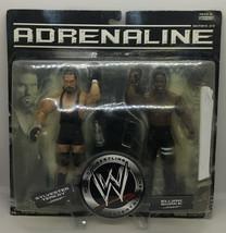 2007 Jakks Pacific WWE Adrenaline Sylvester Terkay and Elijah Burke #5 - $23.74
