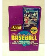1991 Score Major League Baseball Player Cards & Magic Motion Trivia Card... - $24.99