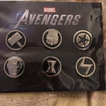 LOT of 8 NEW MARVEL AVENGERS Promo 2020 Video Game Pin Sets - $80.00