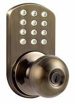 MiLocks TKK-02AQ Digital Door Knob Lock with Electronic Keypad for Interior Door