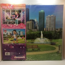 New My Life Doll Reversible Background Club And City Park Measures 20 In x 22 In - $13.85
