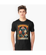Free Shipping  Sanderson sisters witch Hocus Pocus Black T Shirt retro T... - $30.00
