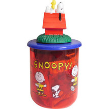 SNOOPY Mascot Jar Plastic Case Ver,2 From Japan - $37.39