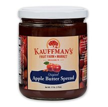 Kauffman's Homemade Original Apple Butter, 17 Oz. Jar (Pack of 2 Jars) - $20.04